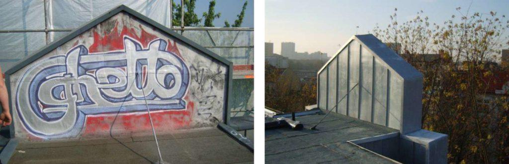Sanierung Dachkonstruktion Brunnenhof