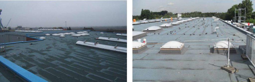 Flachdach Abdichtung und Sanierung Sietas Werft